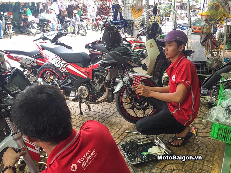 20 chiếc Exciter xuyên Việt thử thách