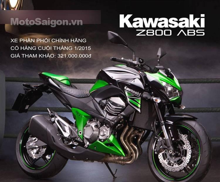 Giá Bán Chính Hãng Kawasaki Ninja H2 Z800 Z1000 Ninja 300 Tại Vn