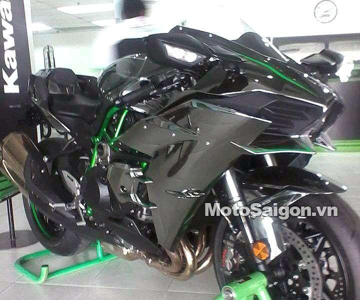 Ninja H2 H2r Xuất Hiện Tại đại Lý Kawasaki đà Nẵng Giá Bán Hơn Tỷ