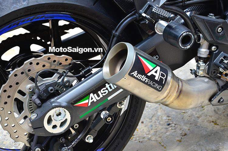 Pô Austin Racing trên Kawasaki Z1000