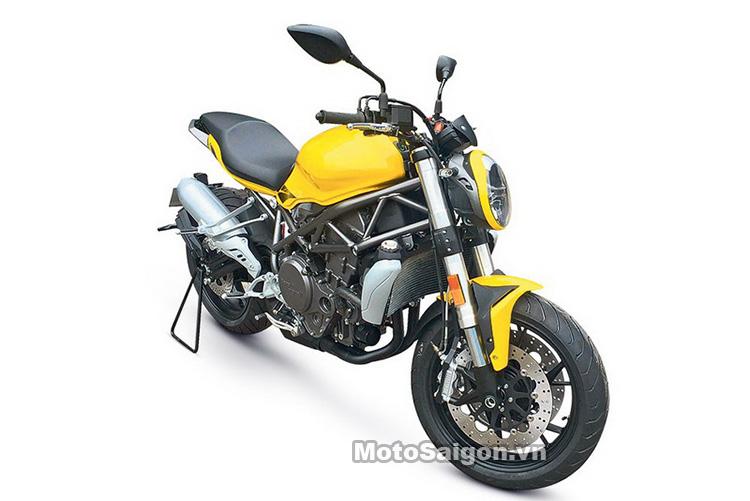 Benelli 750 mẫu xe moto mới dự kiến ra mắt năm 2017