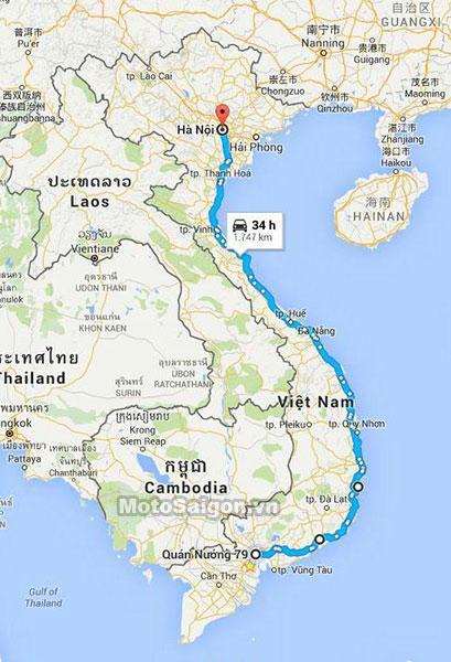 những chuyến hành trình xuyên Việt ấn tượng nhất 2020