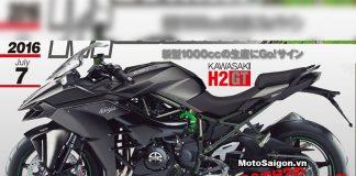 Kawasaki Ninja H2 GT 2017