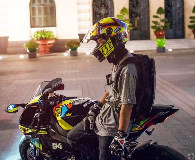 Yamaha R Tem Decal Rossi Vr Moto Saigon on Yamaha R1