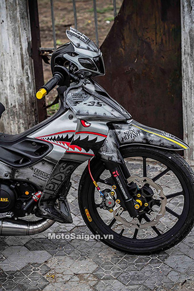 Yamaha Z125 độ tem cá mập sắt