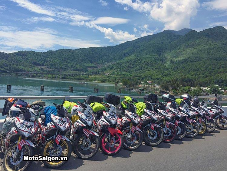 20 chiếc Exciter 150 đi xuyên Việt