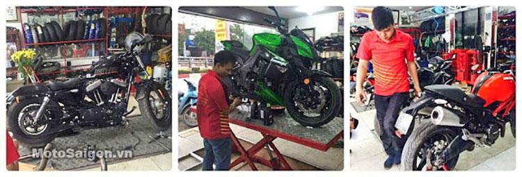 Dịch vụ bảo trì sửa chữa xe moto pkl tại Thưởng Motor