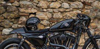 Harley Iron 883 độ đẹp độc đáo
