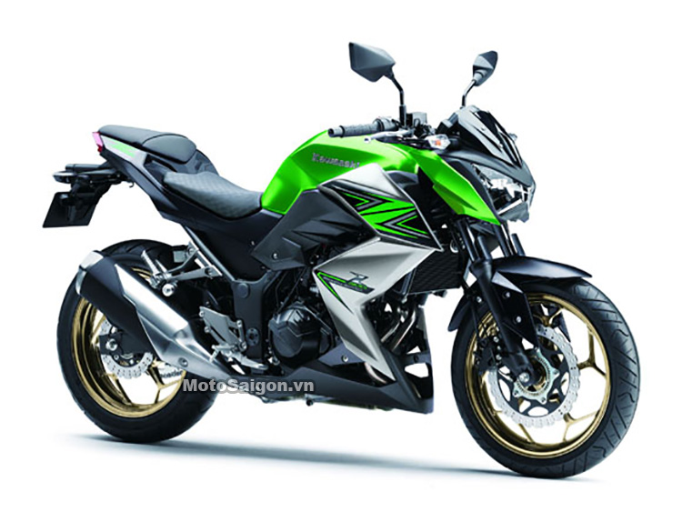 Kawasaki Z300 ABS 2016 màu mới Xanh xám