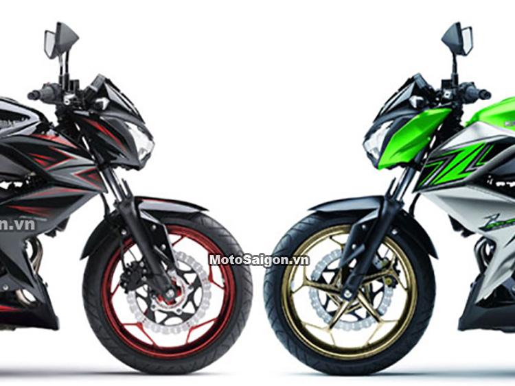 Kawasaki Z300 ABS 2016 màu mới tại Thái