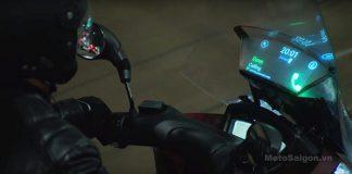 Kính chắn gió thông minh dành cho xe moto pkl (Smart Shield)