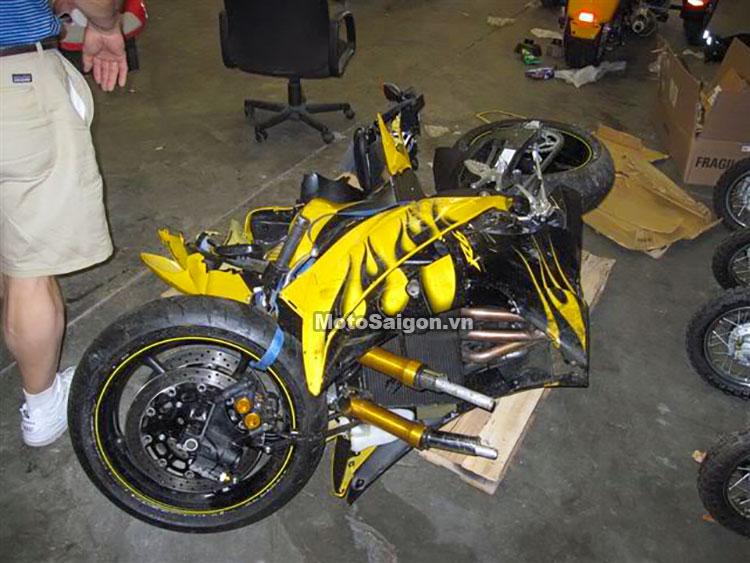 Tai nạn Yamaha R6 - Ảnh minh hoạ