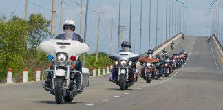 CHƯƠNG TRÌNH CHẠY THỬ CÁC DÒNG XE TOURING của Harley được đi Mỹ 2 tuần