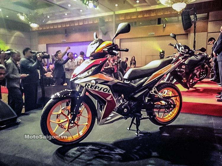 Winner 150 có tên gọi RS150R tại Malaysia