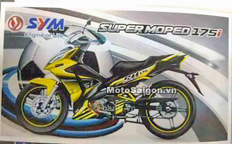 SYM Super Moped 175i