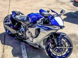 Yamaha R1 độ bánh to 360 2016