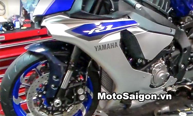 Yamaha R1 độ bánh to kích thước 360 là phiên bản 2016