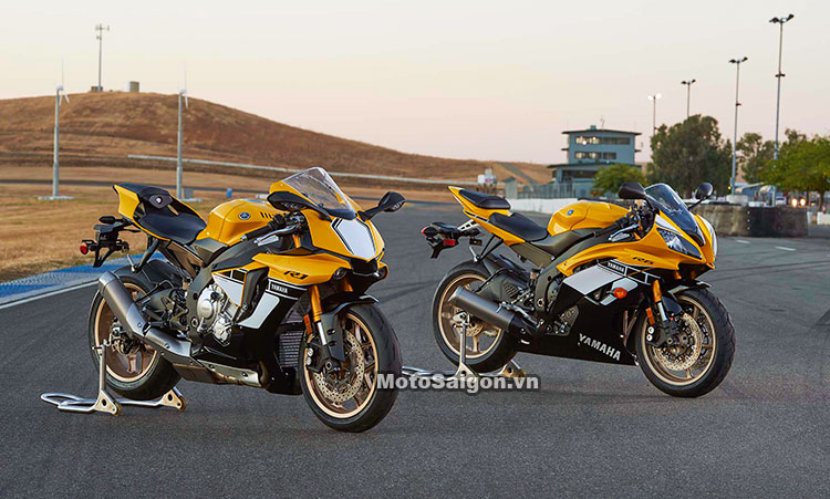 Yamaha R6 2017 60th Anniversary