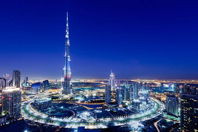 Toà nhà cao nhất thế giới Burj Khalifa