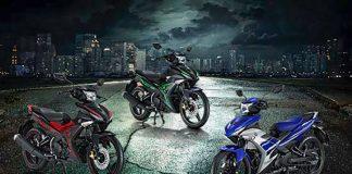 Exciter 150 tại Thái Lan với 2 màu tem mới
