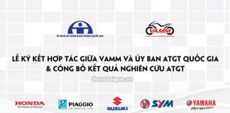 Lễ ký kết giữa VAMM và Uỷ Ban ATGT Quốc Gia 2016