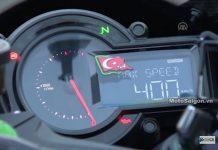 Ninja H2R đạt tốc độ tối đa max speed 400 km/h
