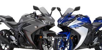 Yamaha R3 đen nhám và Yamaha R3 xanh GP mới 2016