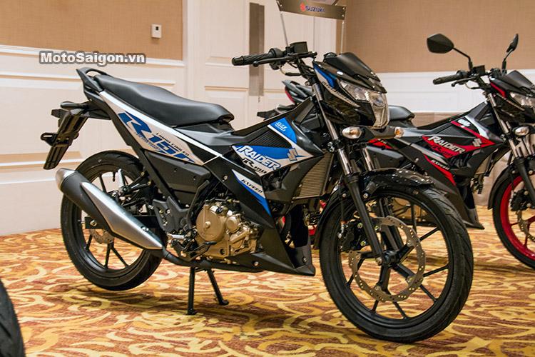 Hinh Anh Xe Raider 2017 >> Gia Raider R150 2017 đa được Suzuki Cong Bố Với 3 Mau Lựa Chọn