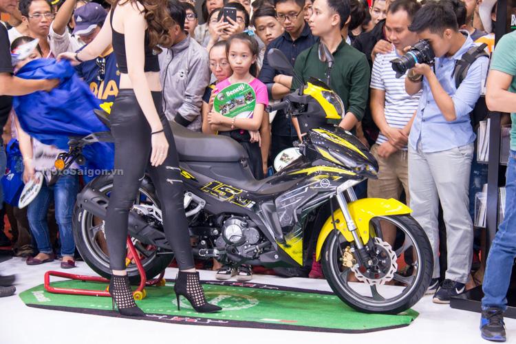 Benelli RFS 150i phiên bản màu vàng