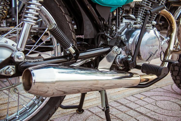 Honda CG125 độ Cafe Racer với gói độ chỉ hơn 10 triệu đồng
