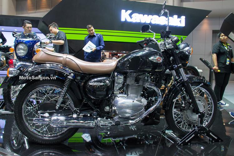 Kawasaki W250 2018 giá bán trên 140 triệu sắp đổ bộ Việt Nam
