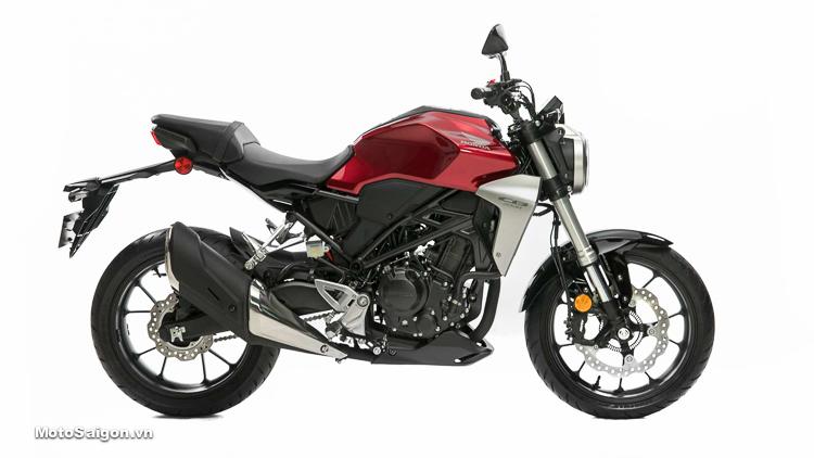 Honda CB300R màu đỏ