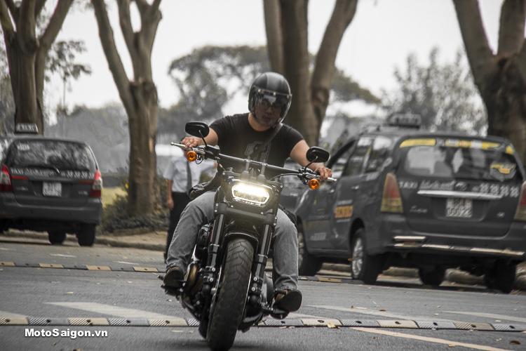 Đánh giá Harley-Davidson Fat Bob 107 2018 có giá bán từ 817 triệu đồng