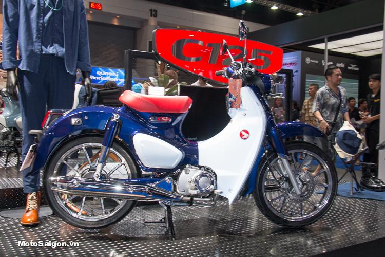 Giá Super Cub C125 phiên bản màu xanh đặc biệt giá 65 triệu đồng