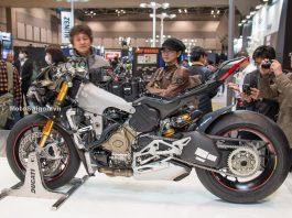 Bên trong Ducati V4 S Panigale khi tháo bỏ dàn áo soi nội tạng. Inside naked engine Ducati V4 S Panigale 2018