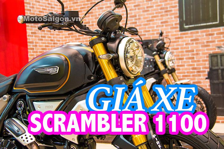 Giá xe Ducati Scrambler 1100 Standard Tiêu chuẩn, Sport Thể thao cao cấp, Speciale Special đặc biệt