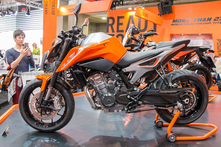 Đánh giá xe KTM 790 Duke ABS 2018
