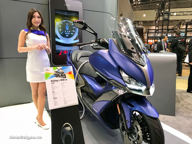 KYMCO XCITING S 400i ABS 2018