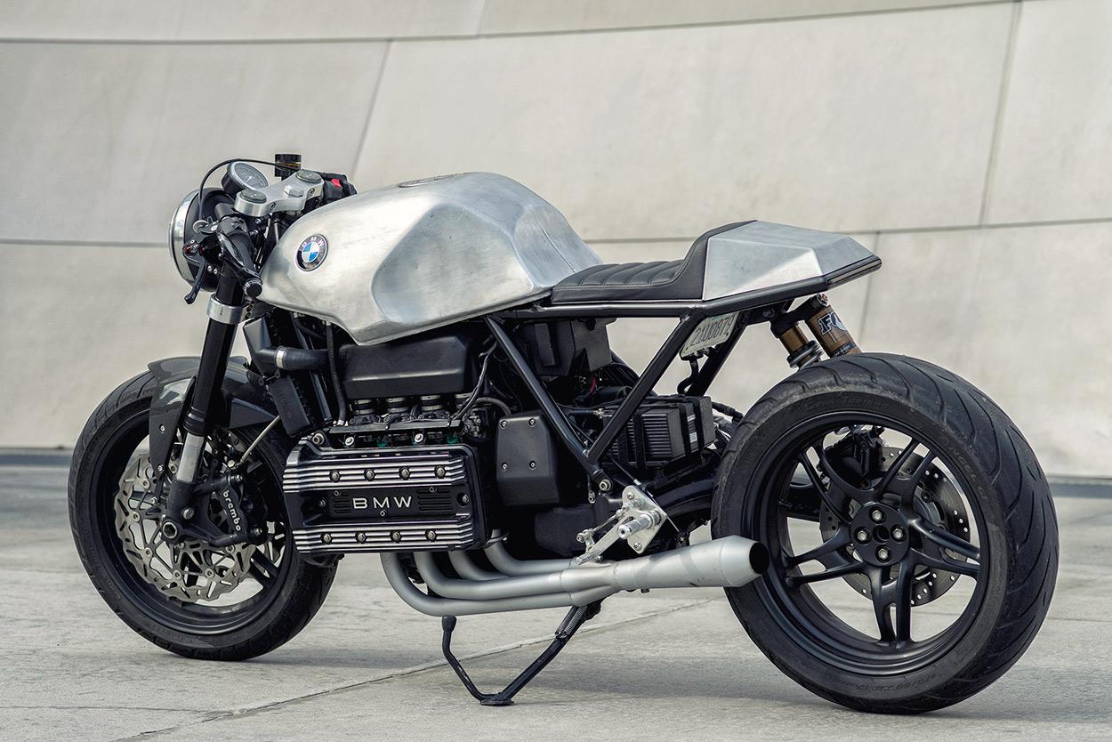 BMW K100 Cafe Racer siêu chất đến từ nước Mỹ