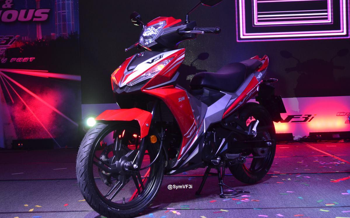 Hình ảnh SYM VF3i lần đầu ra mắt tại Malaysia