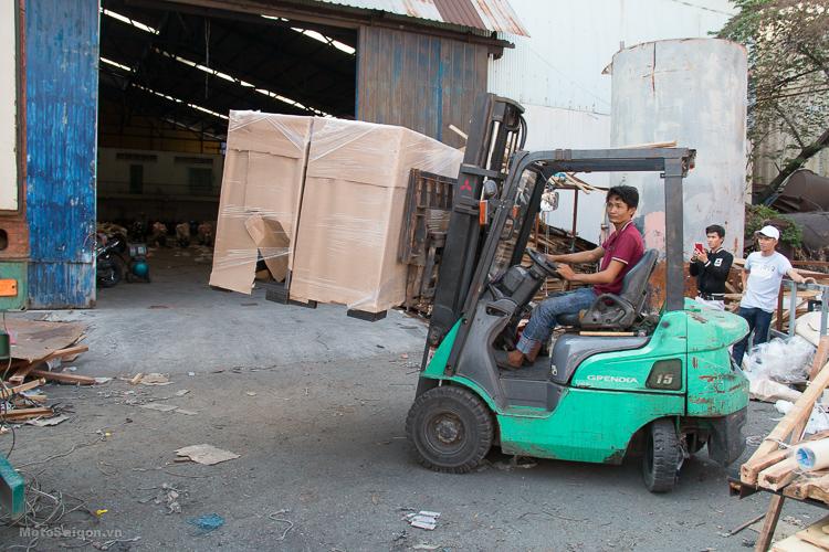Đập thùng lô hàng GPX đã có giá bán tiếp tục về Việt Nam