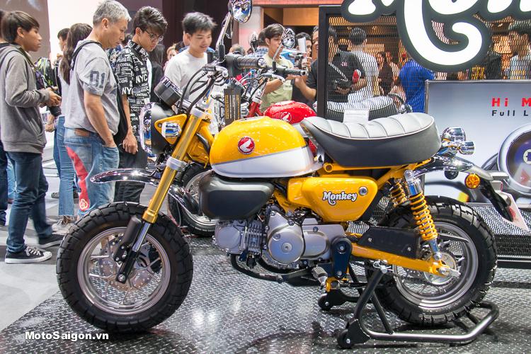 Honda Monkey 125 2018 có giá bán tại Thái Lan tương đương 72 triệu đồng