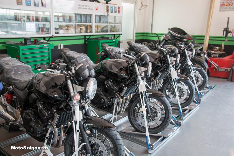 Lô hàng Honda CB400 2018 đã có mặt tại Showroom Honda Motorrock