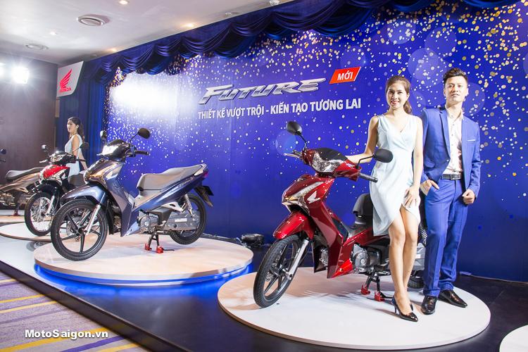 Honda Future 2018 125cc FI hoàn toàn mới chính thức được ra mắt