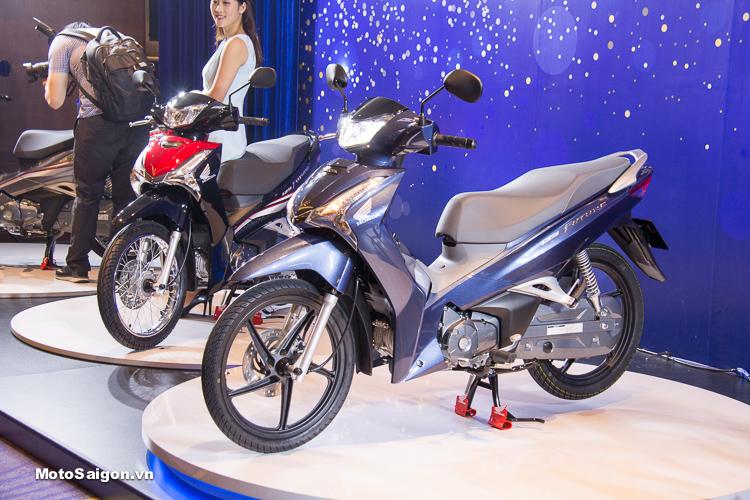 Đánh giá xe Honda Future 2018 với động cơ FI 125 phân khối