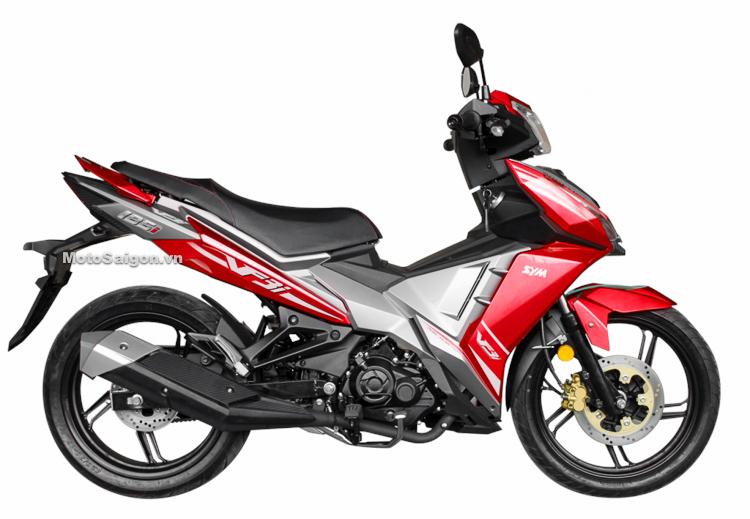 SYM VF3i màu đỏ Red