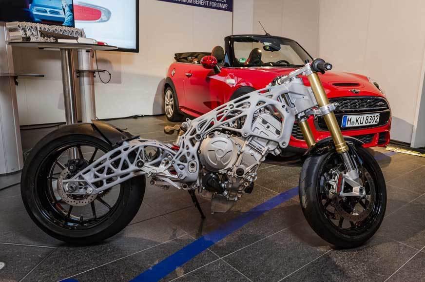 BMW giới thiệu bộ khung sườn được in 3D hoàn toàn dành cho BMW S1000RR