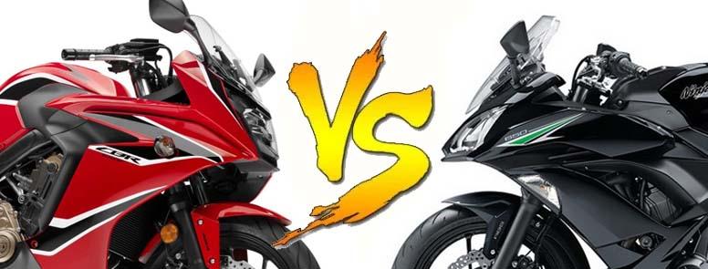 So sánh Honda CBR650F vs Kawasaki Ninja 650