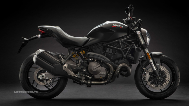 Ducati Monster 821 2018 màu đen