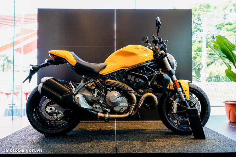 Ducati Monster 821 2018 màu vàng